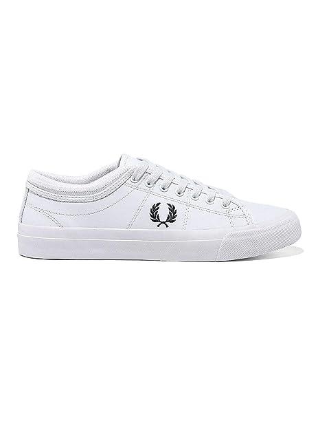 Zapatillas Fred Perry Kendrick Blanco Hombre: Amazon.es: Zapatos y complementos