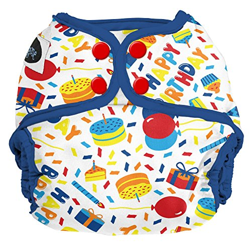 Imagine Baby Products Snap Diaper Cover (Birthday Boy) (Snap Products)