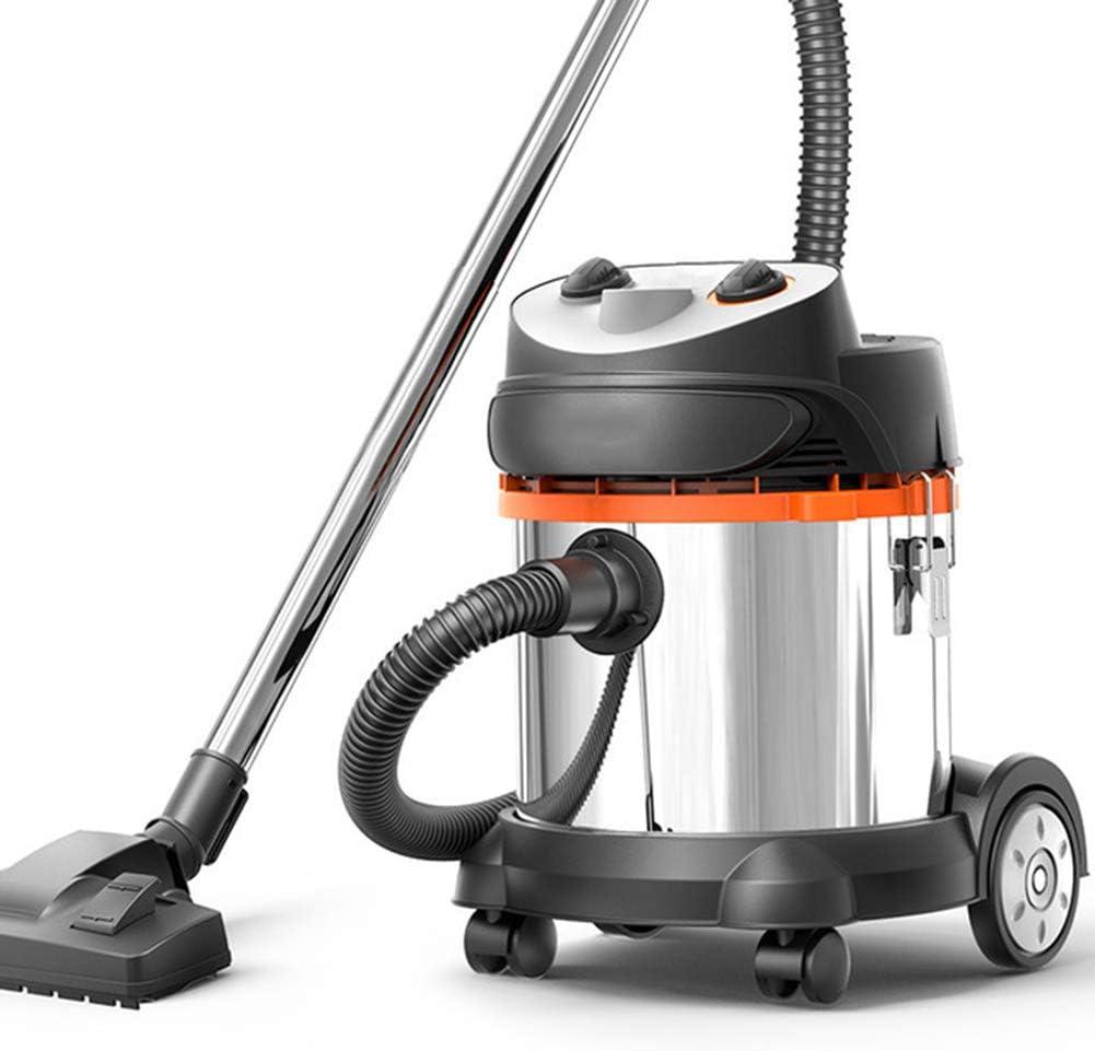 FengJ Aspiradora en seco y en húmedo, aspiradora sin Bolsa de 20L con soplador, 1400W - Potente succión de 17Kpa - Gran Capacidad - Incluye Cepillo para Pisos y Herramienta para Grietas: