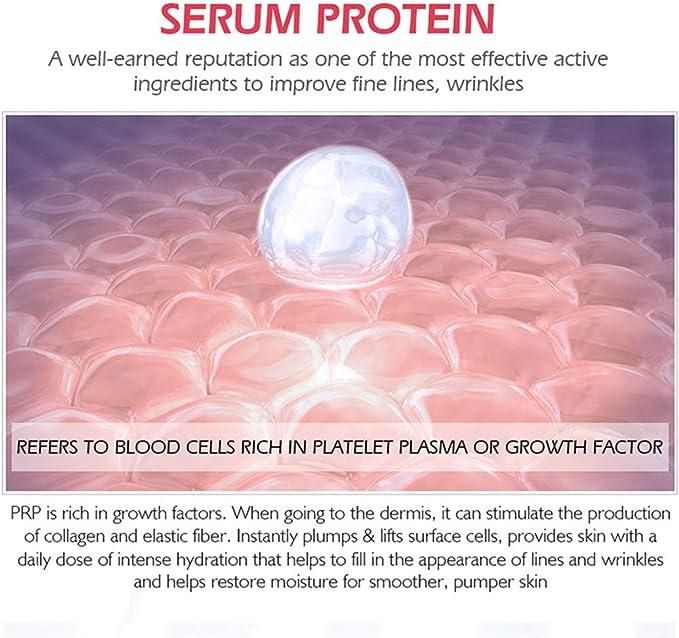 BSMEAN Proteína Facial Sérica Reduce La Sangre Roja ...
