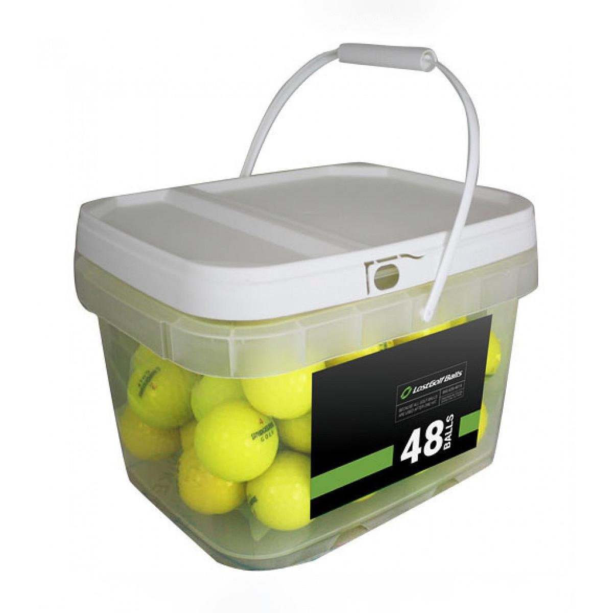48 AssortedイエローMix – ミント( AAAAA ) Grade – リサイクル( used )ゴルフボール B073GJNFZZ