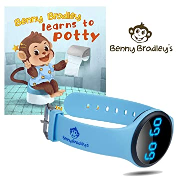 Amazon.com: Benny Bradleys Potty Reloj de entrenamiento ...