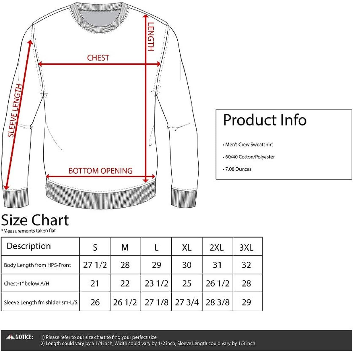 Ripple Junction One Piece Adult Unisex Brook World Tour Fleece Crew Sweatshirt