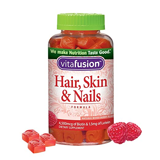 Amazon.com: Vitafusion Hair, Skin and Nails Supplement, 120 Count: Health & Personal Care