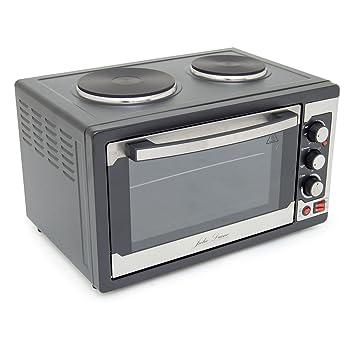 Julie diane mini kitchen 45 litre large capacity worktop oven julie diane mini kitchen 45 litre large capacity worktop oven grill with 2 top hob publicscrutiny Images