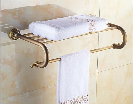 Portasciugamani Bagno Muro : Zyhyantico europa oro asciugamano rack portasciugamani bagno