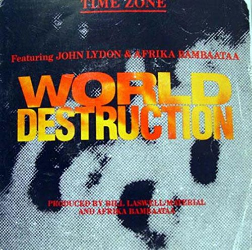 TIME ZONE WORLD DESTRUCTION 45 rpm single
