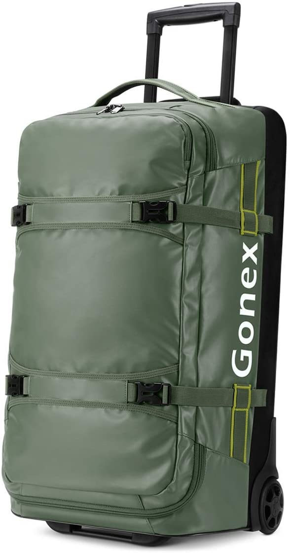 Gonex Rolling Duffle Bag With Wheels