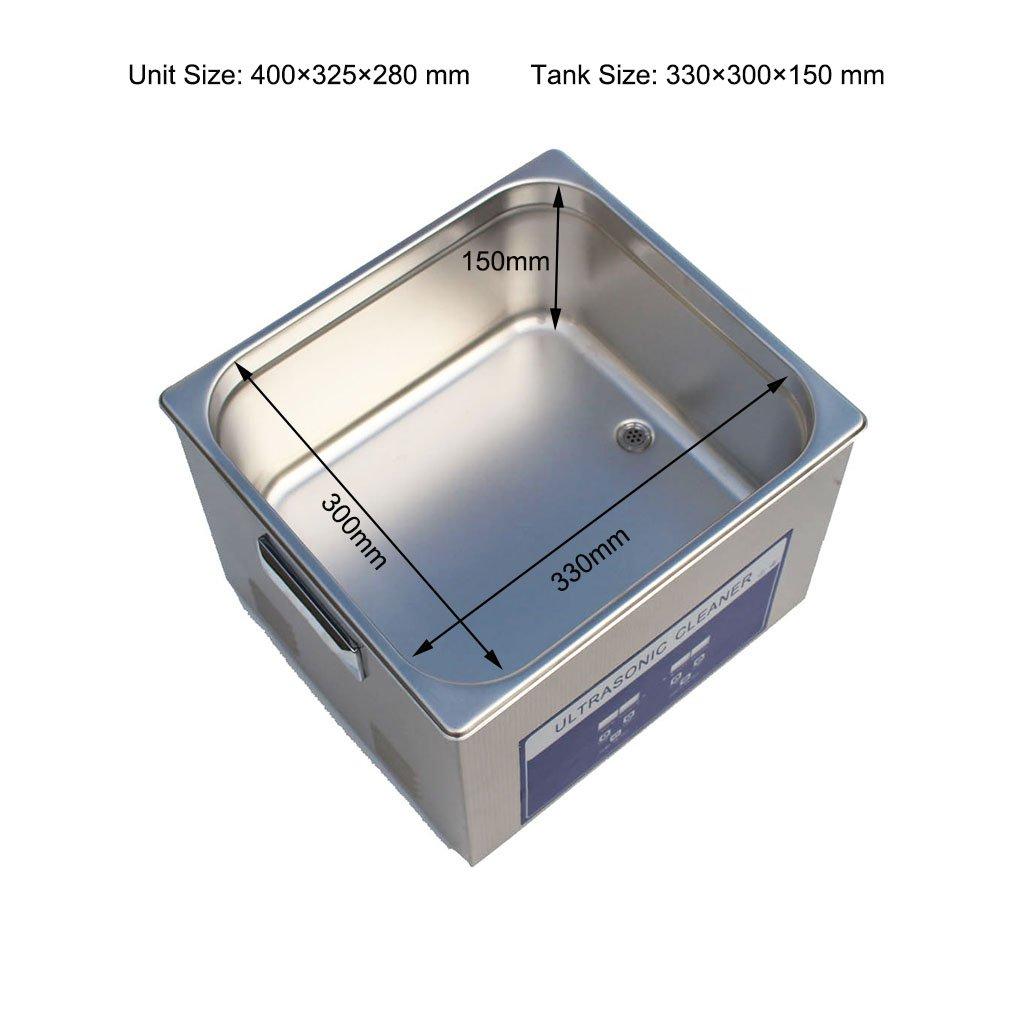 Dental Ultrasonic Cleaner 300W Ultrasonic Generator Hydrosonic Cleaner Ultrasonic Cleaning Systems Vibration Cleaner Ultrasonic Teeth Cleaning by Yu clean (Image #4)