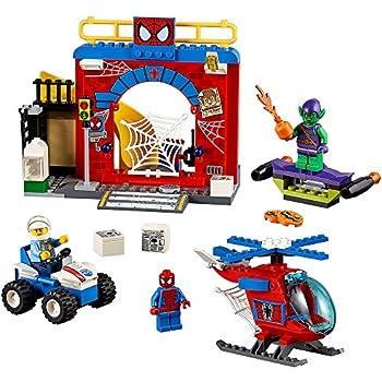 LEGO Juniors Spider-Man Hideout 10687 Toy, Marvel Legends