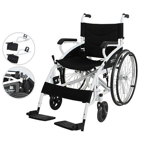 Amazon.com: La silla de ruedas de aleación de aluminio es ...