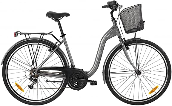 Bicicleta de ciudad de señora BH GLASGOW 2016-M, diseño de onda ...