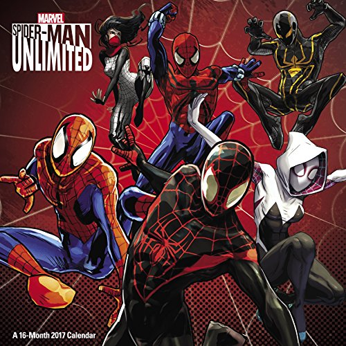 Spider-Man Unlimited Wall Calendar (2017)