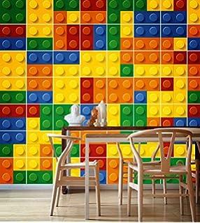Fliesenaufkleber Ziegel Wand Kinderzimmer Ideen Wohnzimmer Deko (Pack Mit  49) (10 X 10