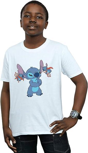 Disney Niños Lilo & Stitch Little Devils Camiseta: Amazon.es: Ropa y accesorios