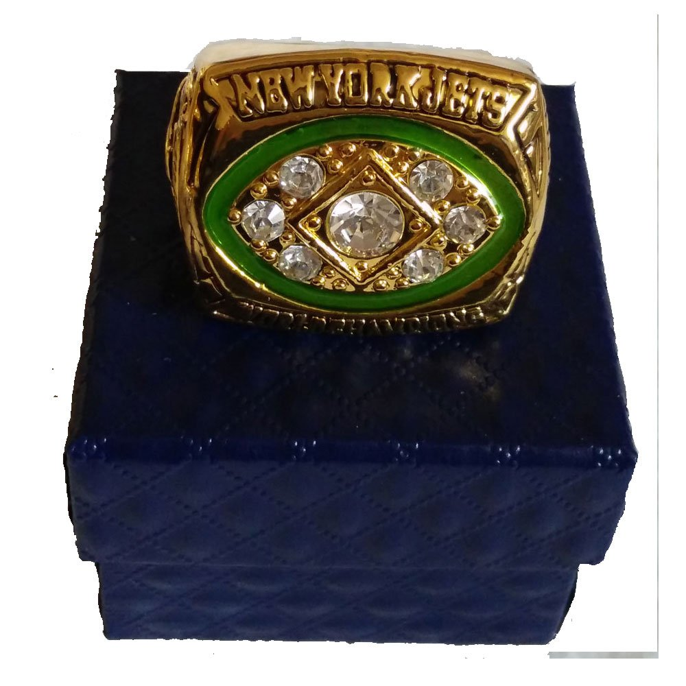 for YIYICOOL fans' collection 1968 New York Lightning team championship rings size 11