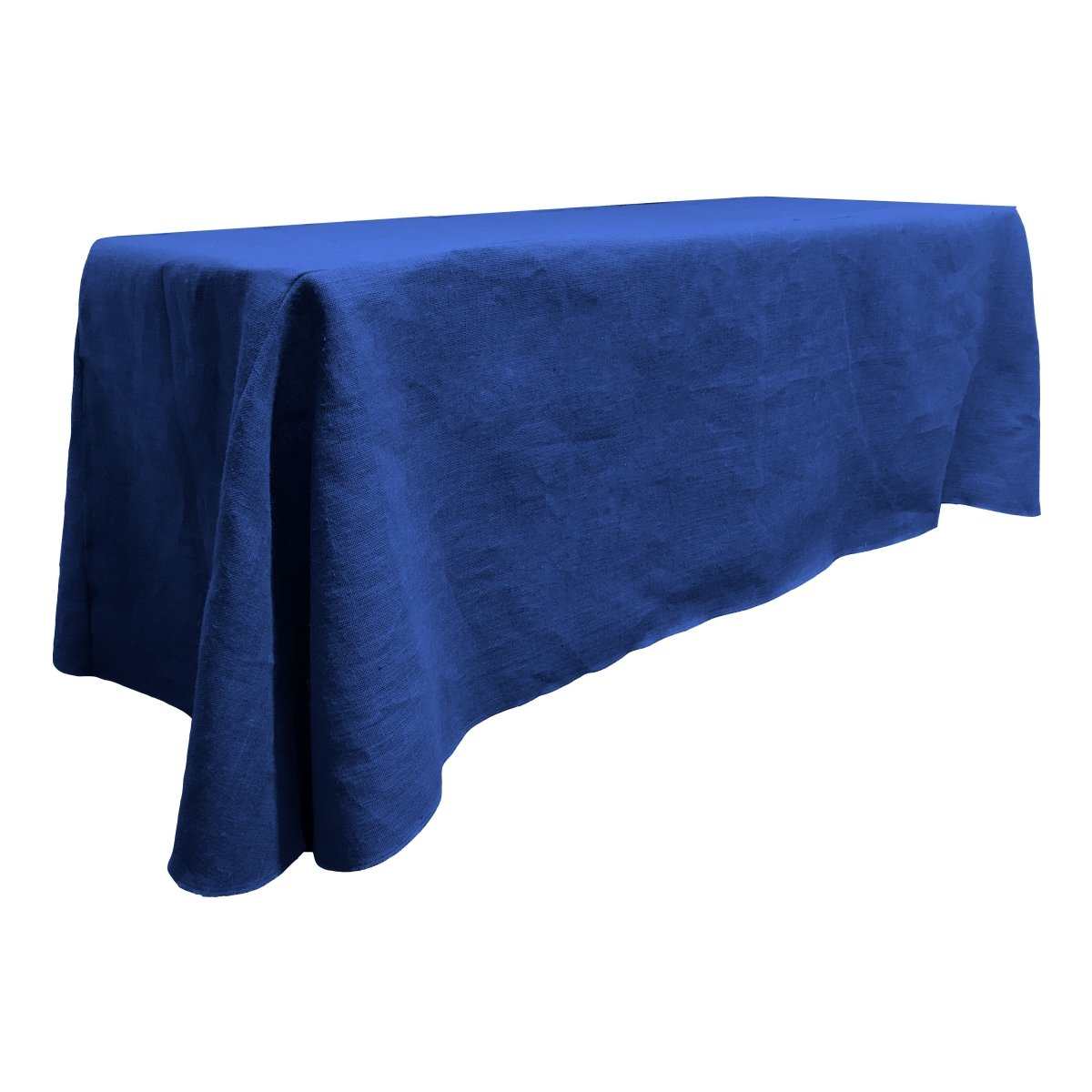 LA Linen Natural Burlap Rectangle Tablecloth 90 by 156-Inch TCburlap90X156Natural