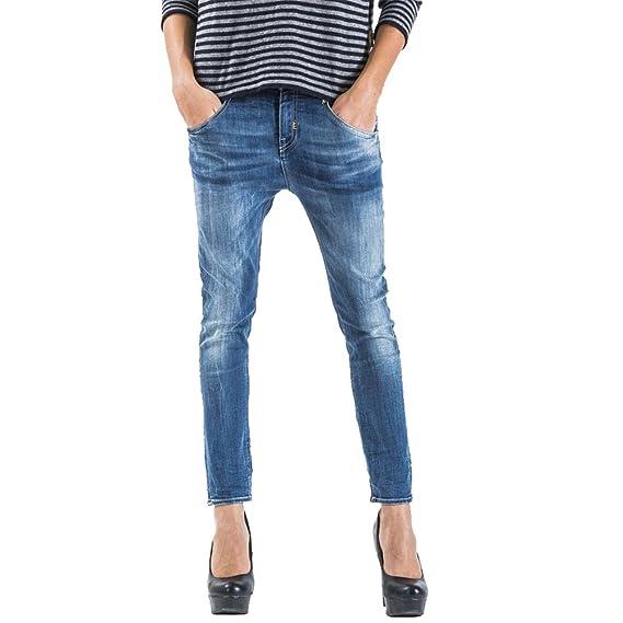 Meltin' Pot - Jeans LEIA D1669-UK300 for Woman, Drop Crotch Style,