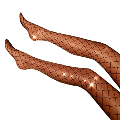 Glitter Fishnet Pantyhose To Modern