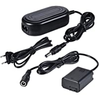 Andoer AC-PW20 AC Power Supply NP-FW50 Dummy Battery Adapter Camera Charger for Sony a7 a7ii a7s a7r a7sii a7rii a6500 a6300 a6000 a5000 a5100 nex-5 nxx-7