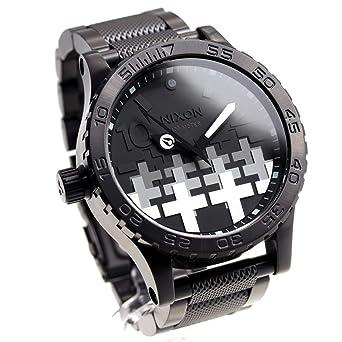63330920a7 [ニクソン]NIXON 51-30 メタリカ コラボ 限定モデル 腕時計 メンズ MASTER OF PUPPETS