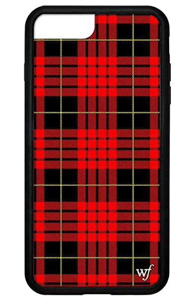 sports shoes 0ccd3 9f06d Wildflower Limited Edition iPhone Case for iPhone 6 Plus, 7 Plus, or 8 Plus  (Red Plaid)