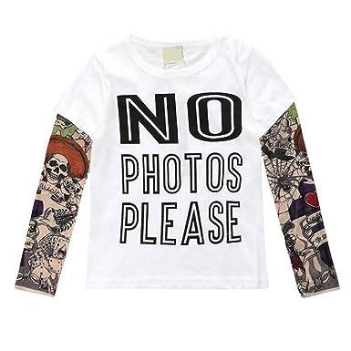 Fuyingda Familia Adulto Niño Mameluco Infantil Estampado T-Shirt ...