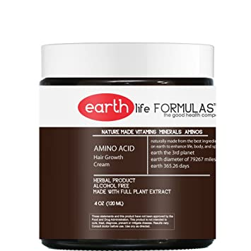 Amazon Com Amino Acid Hair Growth Cream Vitamin And Nutrient Scalp