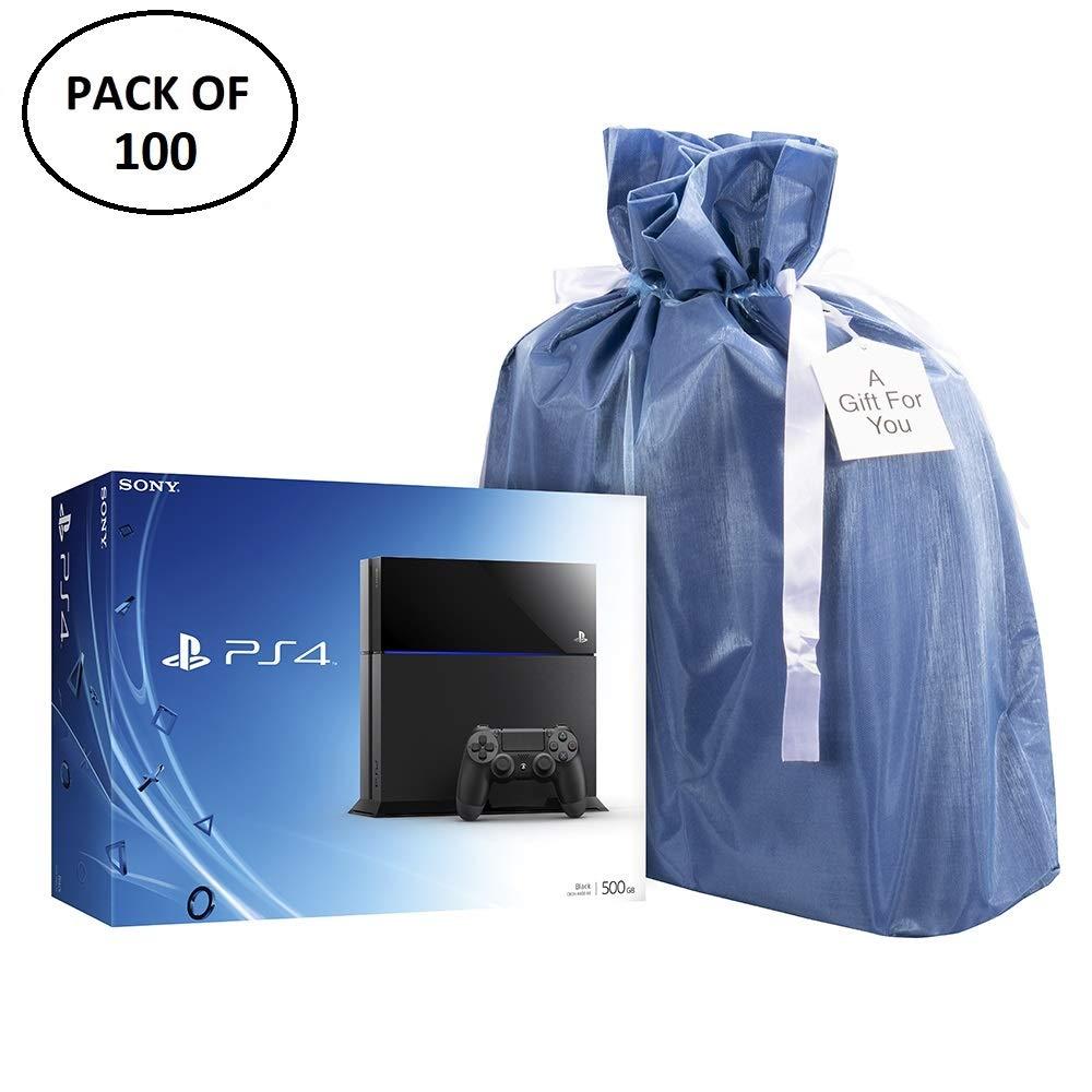 Amazon.com: XL PREMIUM tela bolsas de regalo (paquete de 100 ...