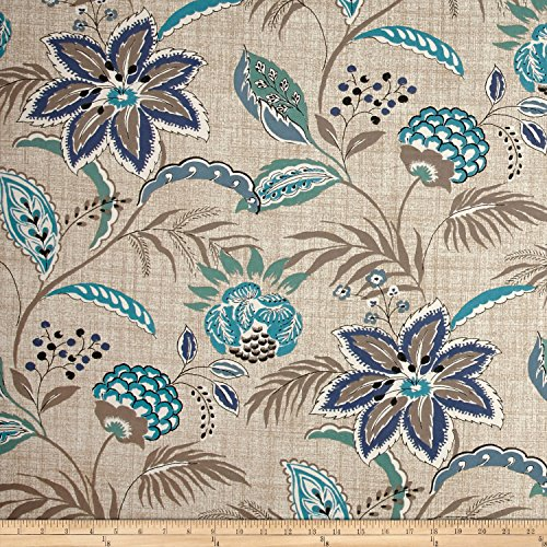 Magnolia Home Fashions Tradewinds Ocean Fabric by The Yard (Magnolia Home Fabrics)
