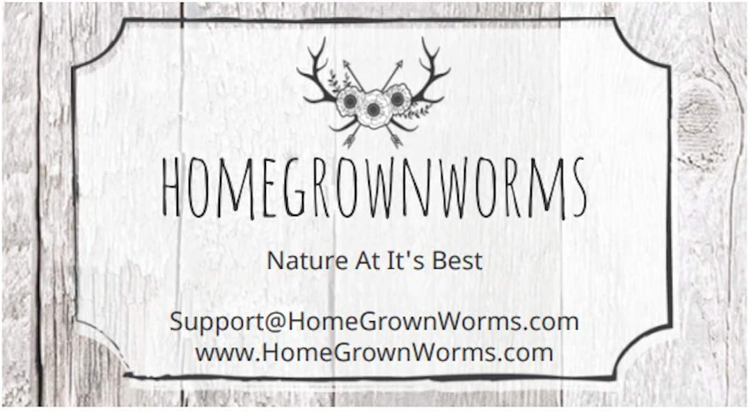 Vermicomposting Garden Red Wrigglers Live Delivery Guaranteed Composting Red Worms Same Day Shipping!!! HomeGrownWorms.com Eisenia Fetida 400 Red Wigglers