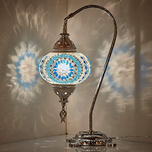 30 Colors DEMMEX 2019 Turkish Moroccan Mosaic Table Lamp