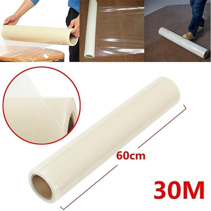 60/cm selbstklebend Boden Treppen Schutz 100/m Heavy Duty Teppich Schutzfolie Folie