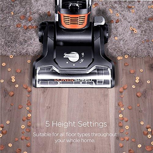 Eureka PowerSpeed Turbo Upright Vacuum Cleaner for Carpet Hard