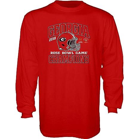 24d90a3b Amazon.com : Elite Fan Shop Georgia Bulldogs Champs Long Sleeve ...
