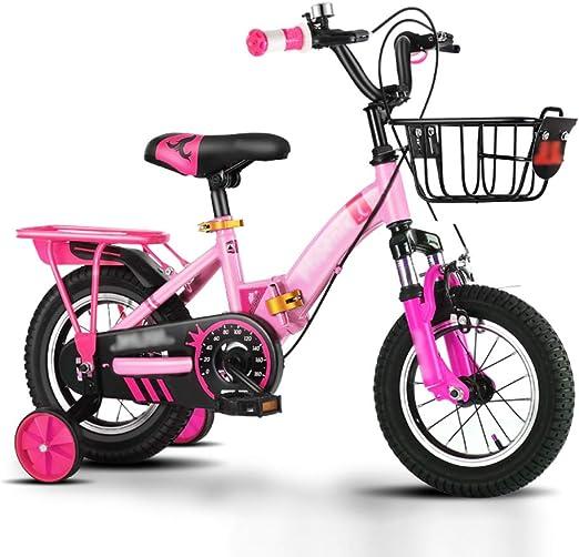 Bicicleta para Niños,2-3-4-6-7 Años Cruiser Bike,Plegable con ...