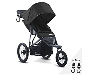 Premium Jogger Stroller Car Seat Compatible Umbrella Travel Systems Ready For Baby