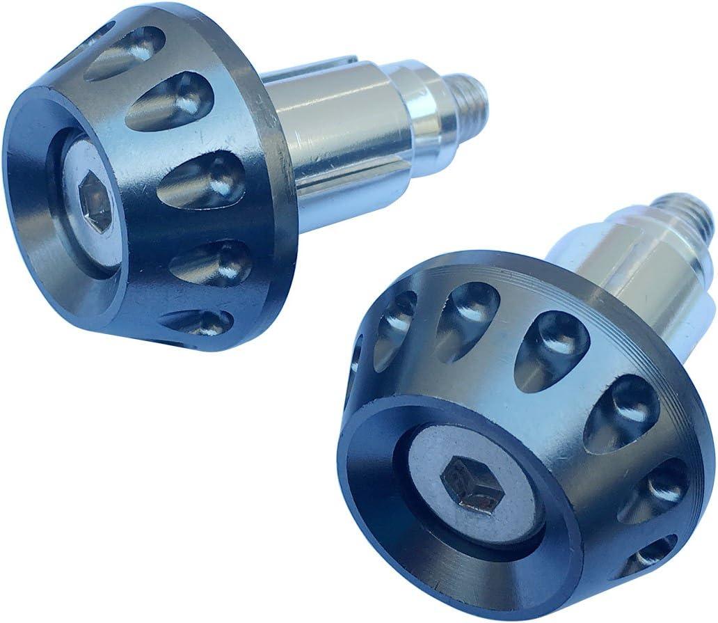 Gray CNC Aluminum Handlebar End Weights Caps Plugs for 2010 Honda Goldwing 1800