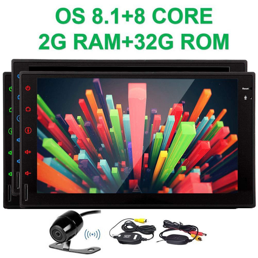 Nuovo avanzata Octa-core con Android 8.1 Stereo Oreo in Dash 7' Camera di navigazione GPS capacitivo touch-screen Universal Car lettore video 1080p GPS Navigation 2 din autoradio stereo di Wifi OBD2
