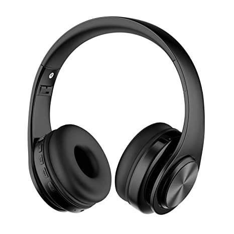 Alitoo Auriculares Inalámbricos Bluetooth con Micrófono, Cancelación de Ruido Auriculares Plegables sobre el oído,