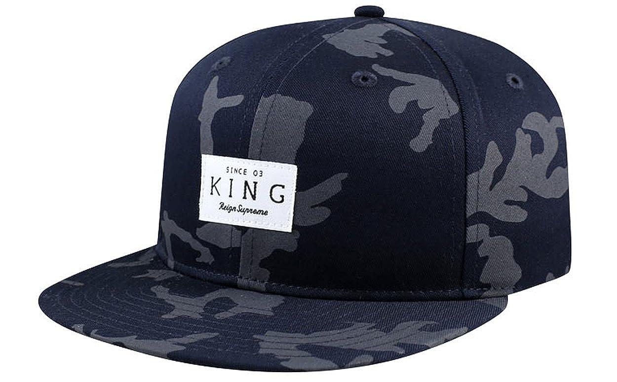 King Vestir Negro Camuflaje Reign Supreme Gorra Snapback: Amazon.es: Ropa y accesorios