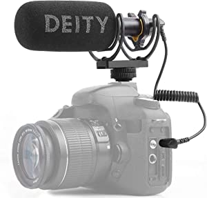 Deity V-Mic D3 Super-Cardioid Directional Shotgun Microphone with Rycote Shockmount for DSLRs, Camcorders, Smartphones, Tablets, Handy Recorders, Laptop and Bodypack Transmitters