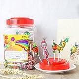 马来西亚进口棒棒糖700g (7g*100支) 综合水果味/可乐味棒棒 大桶装糖果喜糖年货儿童礼物品礼盒 2味可选 (综合水果味)