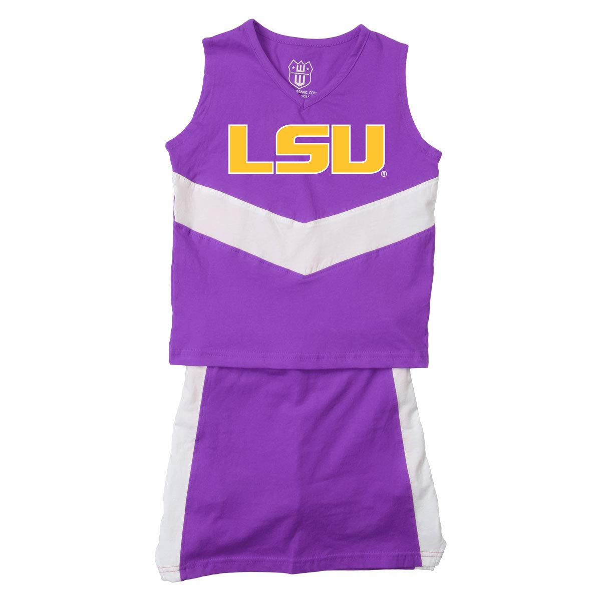 Cotton Willy NCAA Girls Sleeveless Tee