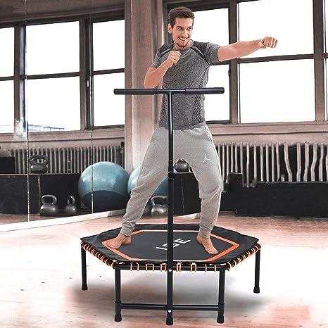Ise Trampolino Elastico Fitness Trampolino Mini Indoor Con