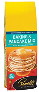 Pamela's Products Gluten FreeBaking & Pancake Mix, 24-Ounce Packages (Pack of 6)