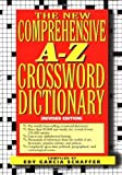 img - for New comprehensive a-z crossword dictionary by Edy Garcia Schaffer (1995-10-31) book / textbook / text book