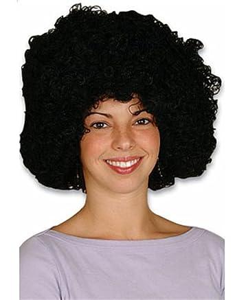 Amazon.com: Nueva mens Womens Niño Disfraz Negro Afro Disco ...