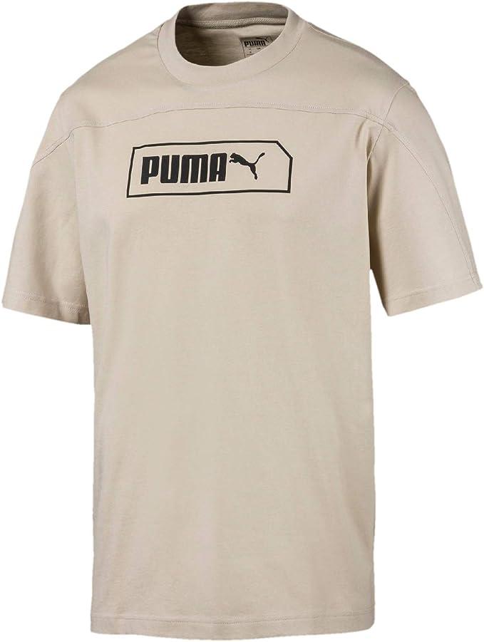 PUMA Herren T Shirt NU TILITY Graphic weiß   S