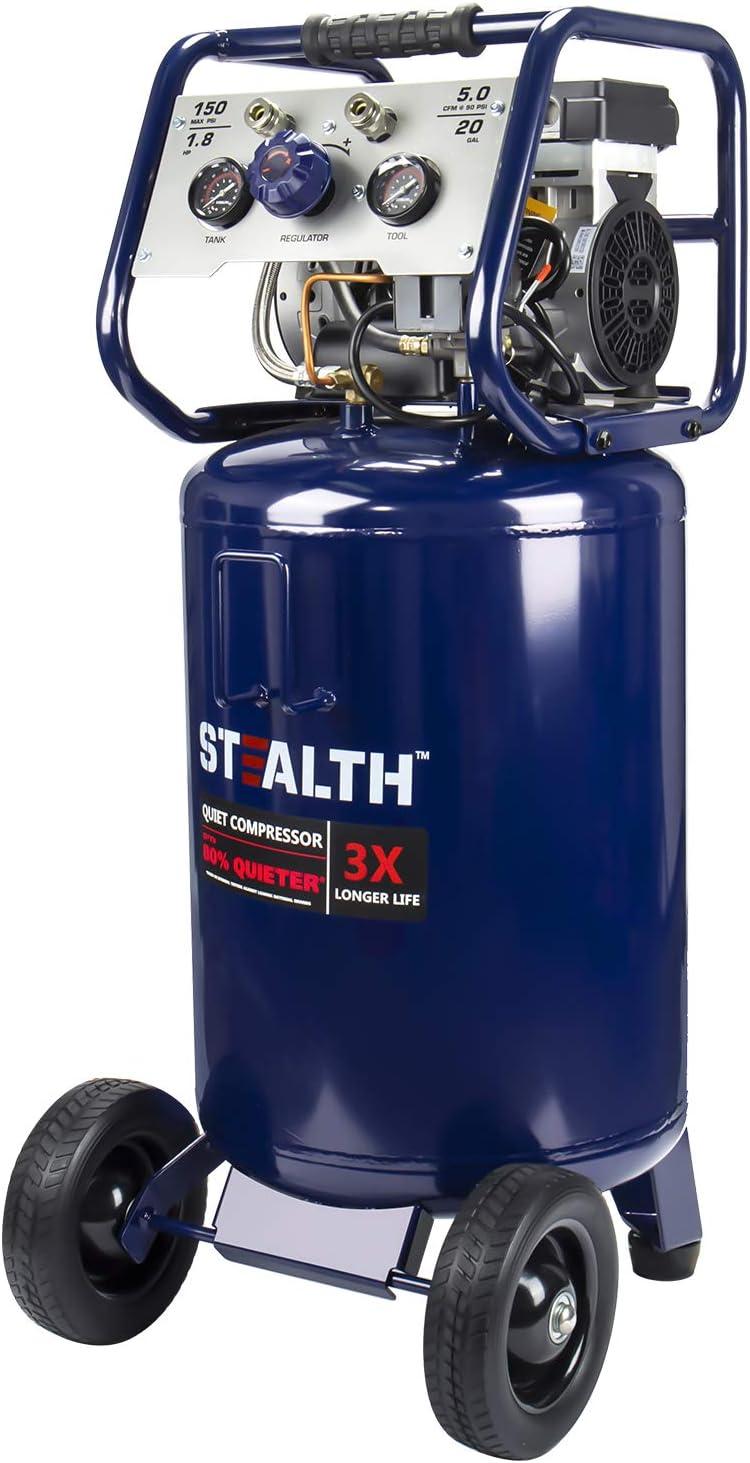 隐形20加仑超静音空气压缩机